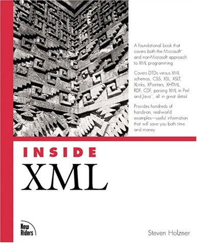9780735710207: Inside XML (Inside (New Riders))