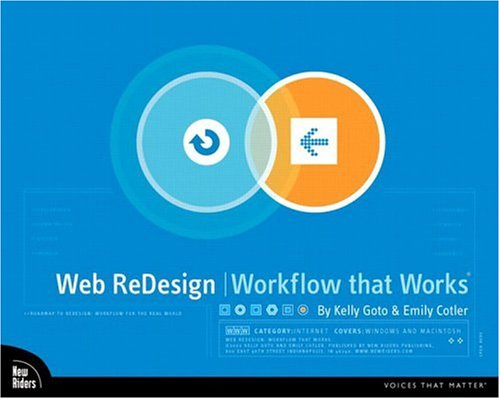 9780735710627: Web ReDesign: Workflow that Works
