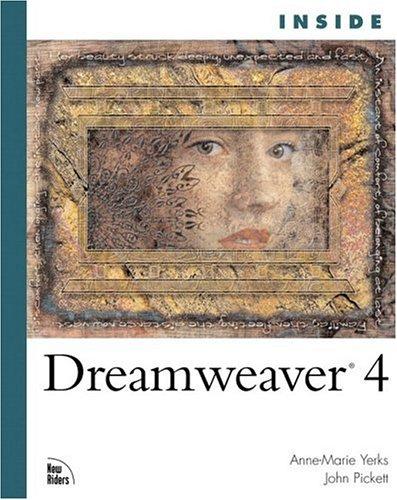 Inside Dreamweaver 4: Anne-Marie Yerks; Blaine