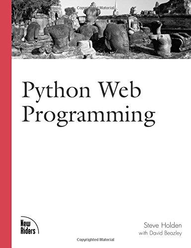 9780735710900: Python Web Programming