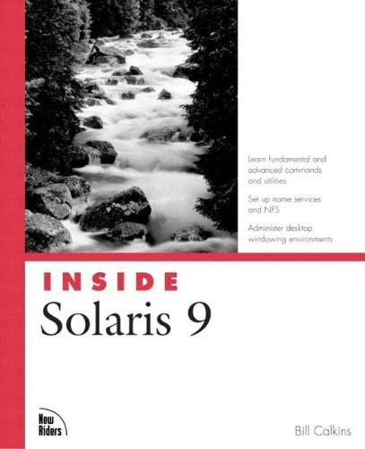 9780735711013: Inside Solaris 9