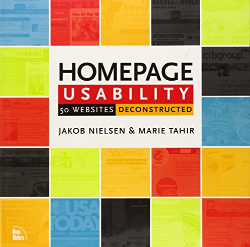 9780735711020: Homepage Usability: 50 Websites Deconstructed