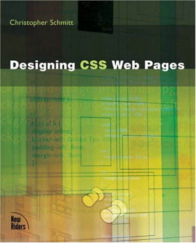 9780735712638: Designing CSS Web Pages
