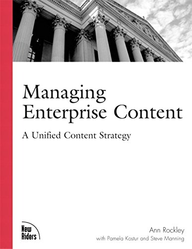 9780735713062: Managing Enterprise Content: A Unified Content Strategy