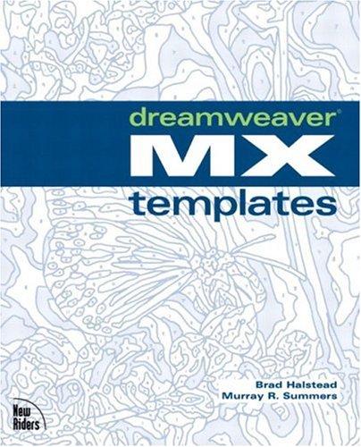 9780735713192: Dreamweaver MX Templates
