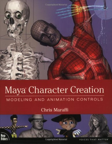 9780735713444: Maya Character Creation: Modeling and Animation Controls