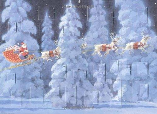 9780735812277: 'Twas the Night Before Christmas Advent Calendar