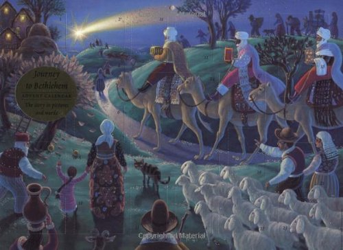9780735813908: Journey to Bethlehem Advent Calendar: The Story in Pictures and Words