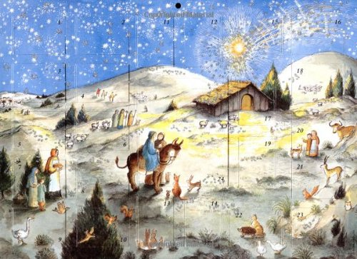 9780735818606: Away in a Manger Advent Calendar