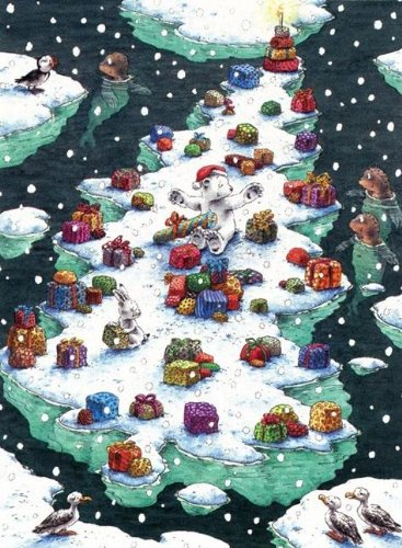 9780735820616: Lars Arctic Christmas Advent Calendar