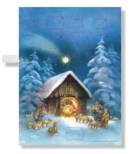 9780735822238: Silent Night, Holy Night Musical Advent Calendar