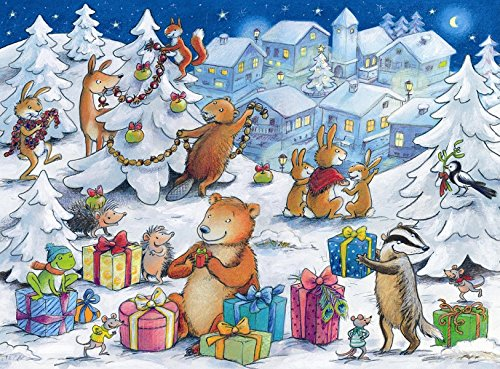 9780735822436: Christmas Critters Advent Calendar