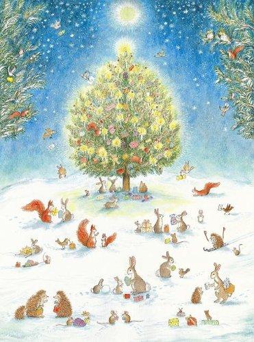 9780735822443: A Woodland Christmas Advent Calendar