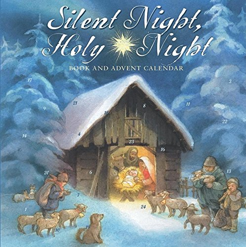 9780735823129: Silent Night, Holy Night Book and Advent Calendar