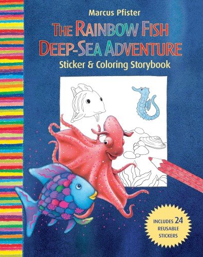 9780735823181: Rainbow Fish Deep Sea Adventure Sticker and Coloring Storybook
