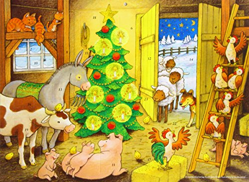 9780735823389: Advent Calendar Farmyard Christmas