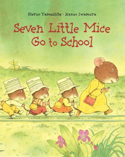 Seven Little Mice Go to School (Hardback) 9780735840126 It's time forsevenlittle mice to start school!And it's up to Mother Mouse to get them there.When the little mice prove reluctant,