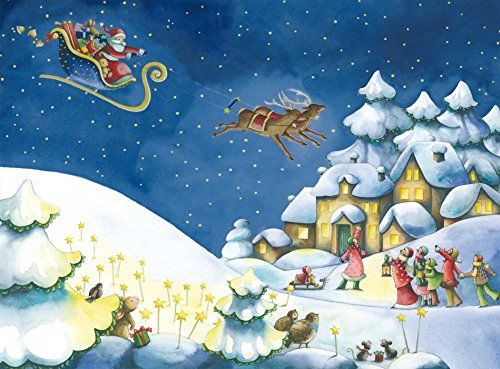 9780735840713: Christmas Wishes Advent Calendar