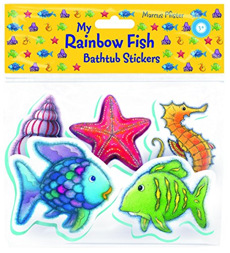 9780735841017: Rainbow Fish Bathtub Stickers
