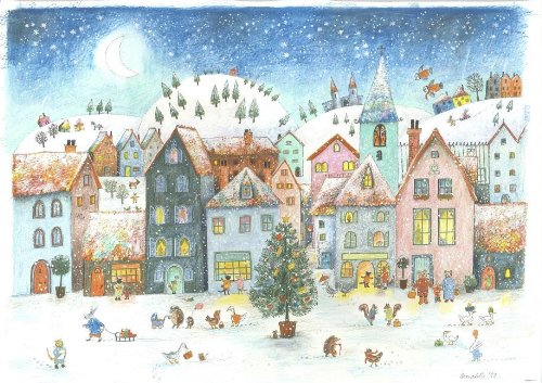 9780735841338: Wintervillage Advent Calendar