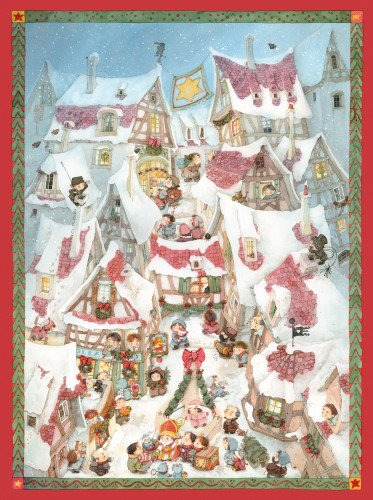 9780735841956: Christmas in the Square Advent Calendar