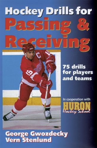 9780736000048: Hockey Drills for Passing & Receiving