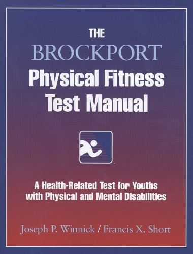 9780736000215: The Brockport Physical Fitness Test Manual