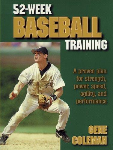 9780736003223: 52-Week Baseball Training
