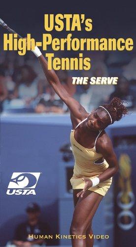 9780736032964: USTA's High Performance Tennis: the Serve - NTSC