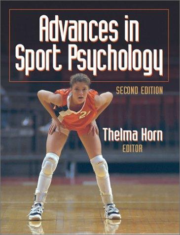 9780736032988: Advances In Sport Psychology-2E