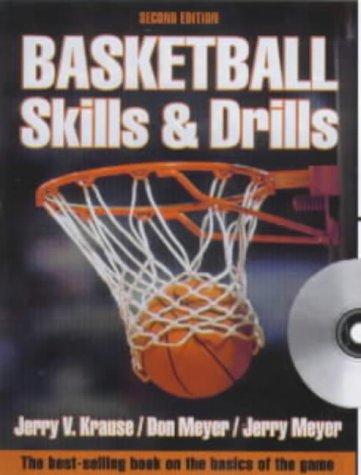 9780736033572: Basketball Skills & Drills (Book ) with CDROM