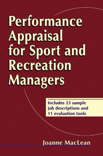 Performance Appraisal for Sport and Recreation Managers: Joanne MacLean