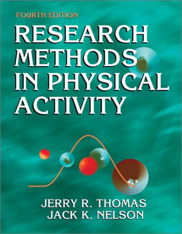 9780736036924: Research Methods in Physical Activity