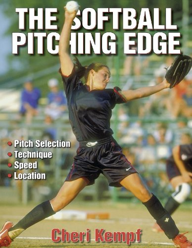 9780736038256: The Softball Pitching Edge