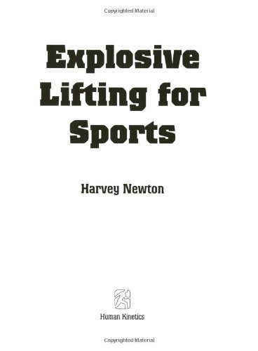 9780736041720: Explosive Lifting for Sports