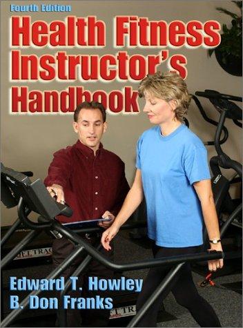9780736042109: Health Fitness Instructors Handbook
