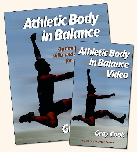 9780736042475: Athletic Body in Balance Book/Video Package - NTSC