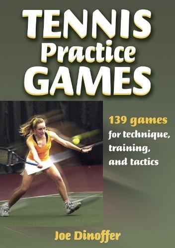 9780736044141: Tennis Practice Games