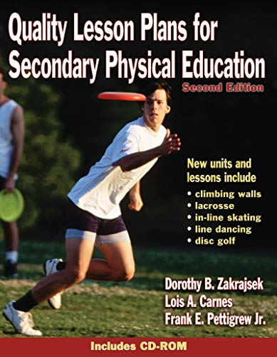 9780736044851: Quality Lesson Plans for Secondary Physical Education - 2nd Ed