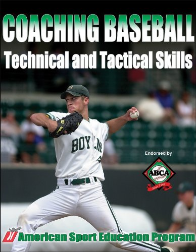 9780736047036: Coaching Baseball Technical and Tactical Skills (Technical and Tactical Skills Series)