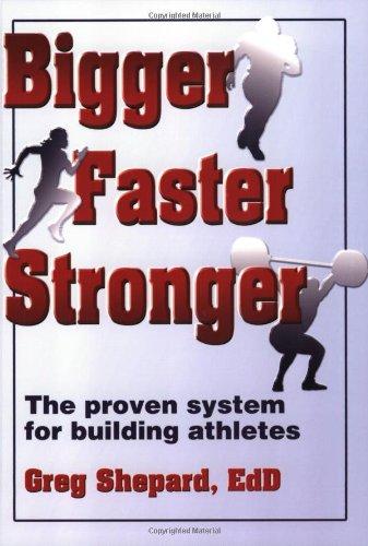 Bigger Faster Stronger: Shepard, Greg
