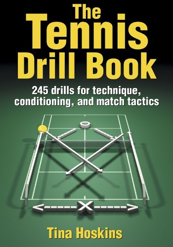 9780736049122: The Tennis Drill Book (The Drill Book)