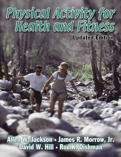 Physical Activity for Health and Fitness: Allen W. Jackson