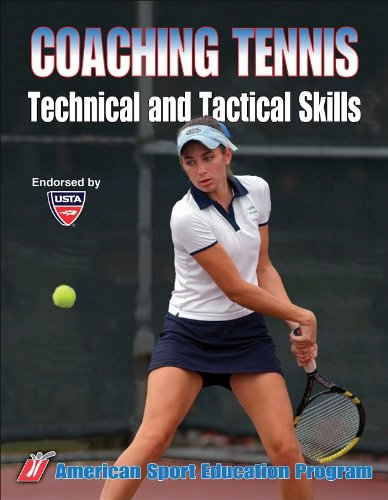 9780736053808: Coaching Tennis Technical and Tactical Skills