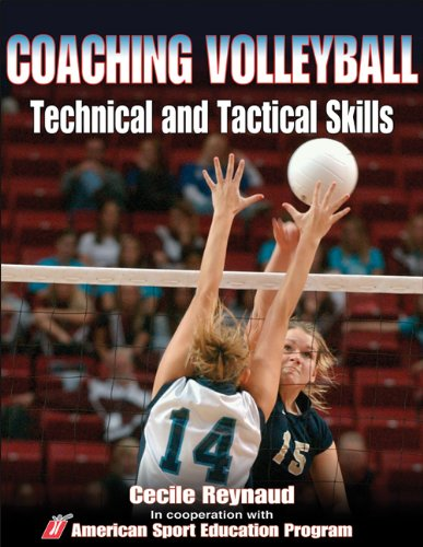 9780736053846: Coaching Volleyball Technical and Tactical Skills (Technical and Tactical Skills Series)