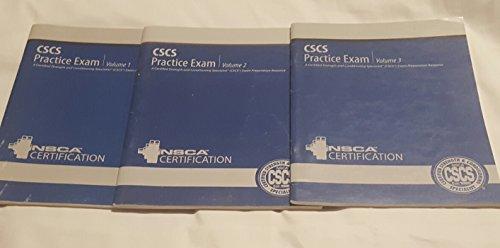 9780736054614: NSCA CSCS Practice Exam DVD and books