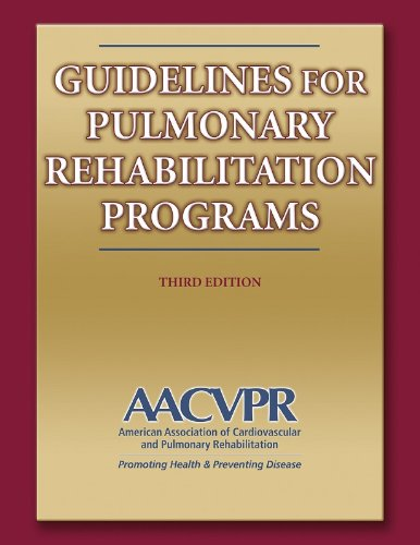 9780736055734: Guidelines For Pulmonary Rehabilitation Programs