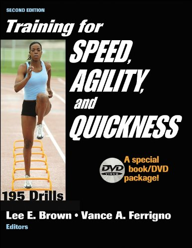 9780736058735: Training for Speed, Agility, and Quickness: Special Book/DVD Package