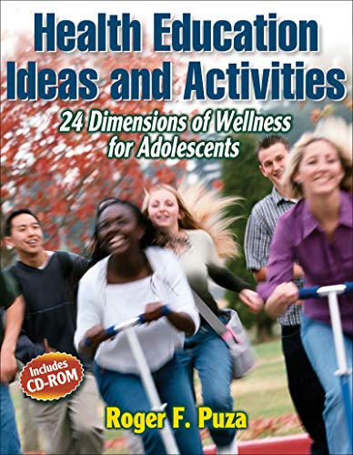 9780736059824: Health Education Ideas and Activities:24 Dimensions of Wellness