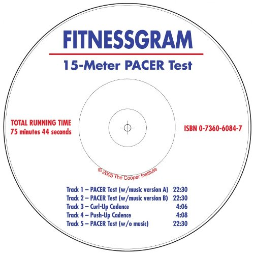 9780736060844: Fitnessgram 15-Meter Pacer Test CD